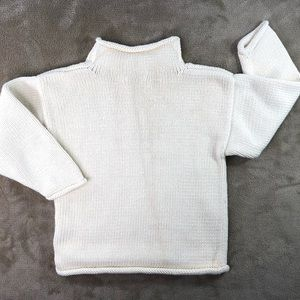 Clavce Shirts & Tops - Claver Quality Cream Cotton Lobster Sweater